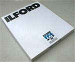 "ILFORD FP4 8X10"" 25 SHEET FILM"