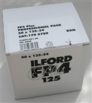 ILFORD FP4 PLUS 125 BLACK & WHITE 35MM FILM 24 EXPOSURES 50 PACK