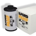 ILFORD PAN F PLUS 50 BLACK & WHITE 35MM FILM 36 EXPOSURES