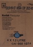 KODAK FLEXICOLOR C41 DEVELOPER STARTER 4X1.2L
