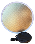 2 IN 1 60CM FOLDING REFLECTOR